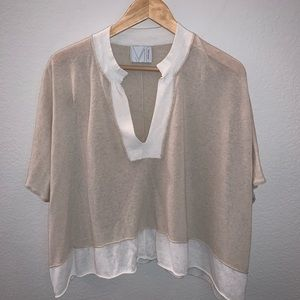 Michael Stars poncho sweater top